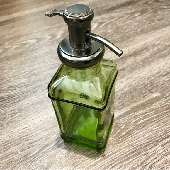 Threshold Accessories Gorgeous Green Glass Soap Pump Poshmark
